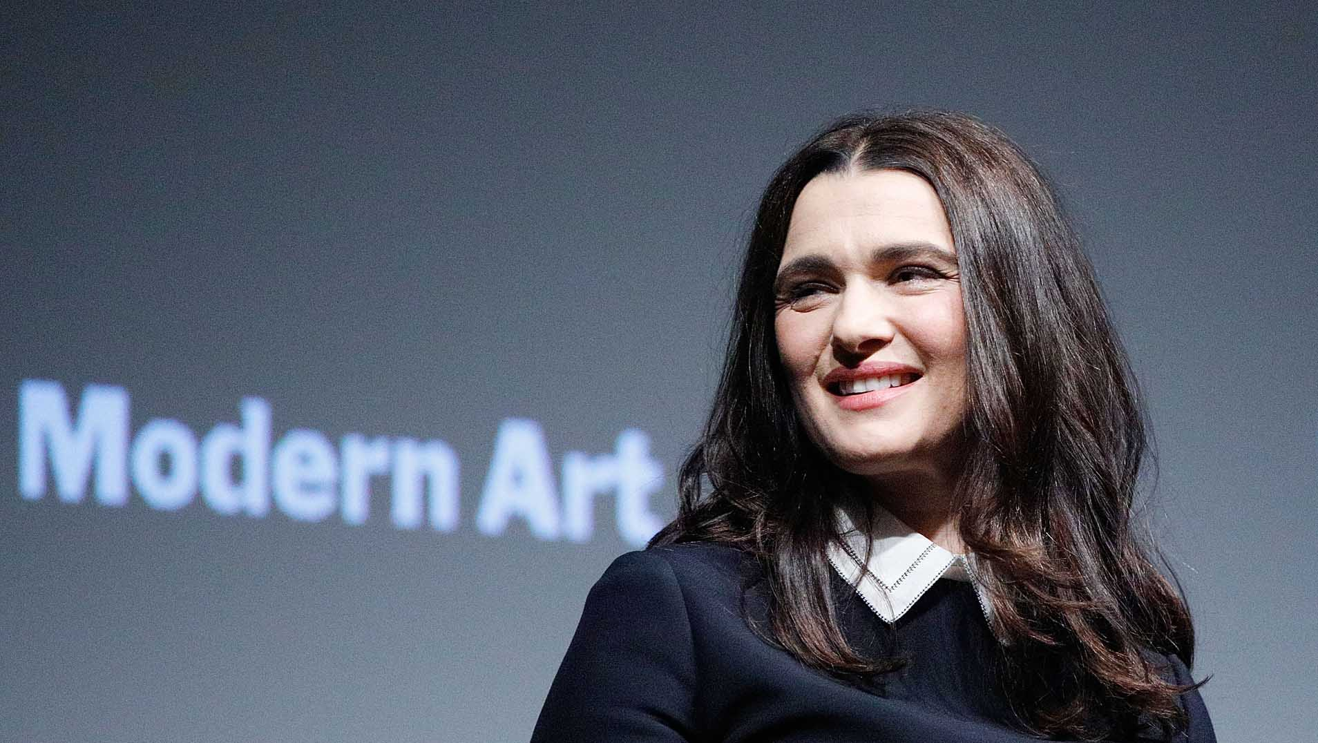 Rachel Weisz at the MoMA Screening of The Favourite.